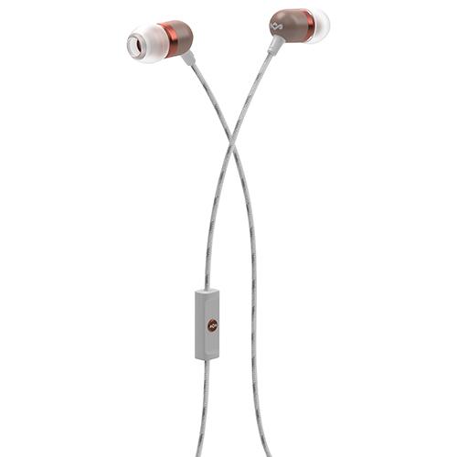 Écouteurs à isolation sonore, micro Smile Jamaica de House of Marley (EM-JE041-CP) - Havane - Cuivre