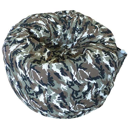 Contemporary Teen Bean Bag Chair - Desert