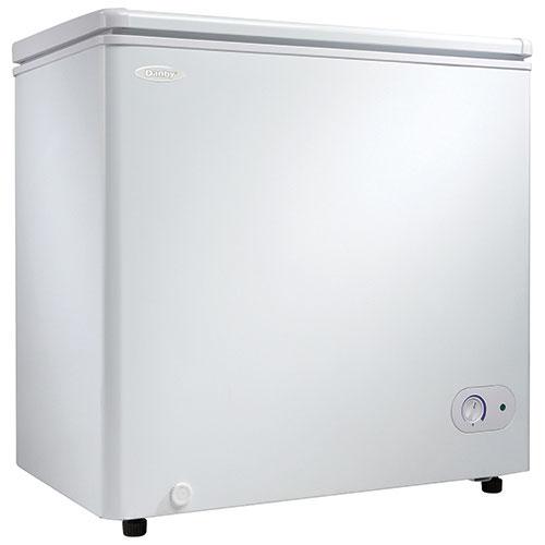 Congélateur-coffre de 5,5 pi3 de Danby (DCF055A1WDB1) - Blanc