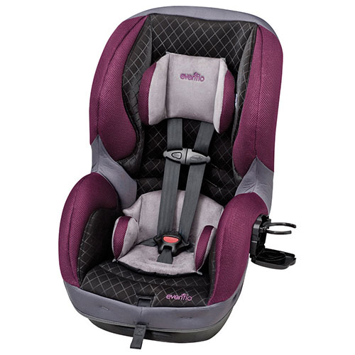 Evenflo SureRide DLX Convertible 2-in-1 Car Seat - Sugar Plum