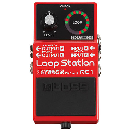 BOSS Loop Station Guitar Pedal (RC-1)