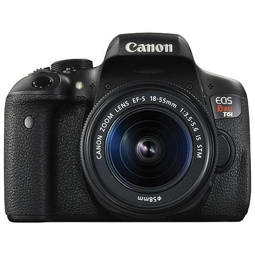 Canon EOS Rebel T6i DSLR Camera with 18-55mm IS STM Lens Kit