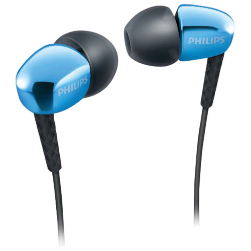 Philips In-Ear Sound Isolating Headphones (SHE3900BL/27) - Blue