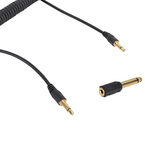 Câble PC Sync de 3,5 mm avec adaptateur de câble de 6,35 mm de Cactus (CA130392)