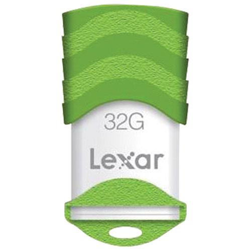 Clé USB de 32 Go JumpDrive V30 de Lexar - Vert