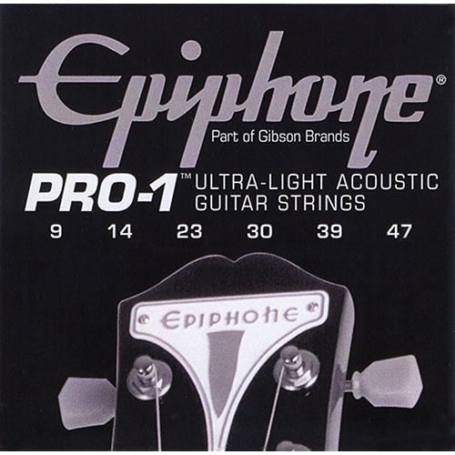 Epiphone Pro-1 Ultra-Light Acoustic Guitar Strings