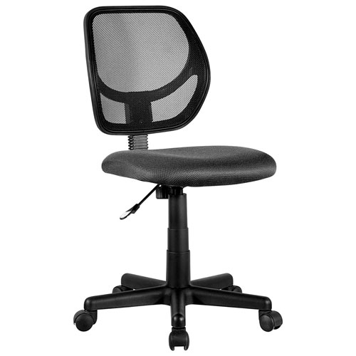 Milbrook Mesh Task Chair Black Office Chairs Best Buy Canada