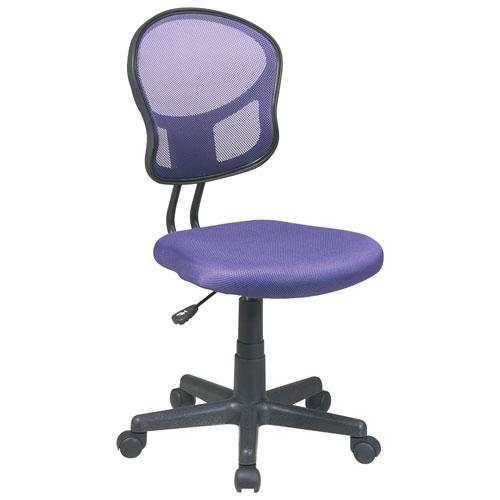 fauteuil de bureau en polyester ospdesigns d 39 office star pourpre chaises de bureau best. Black Bedroom Furniture Sets. Home Design Ideas
