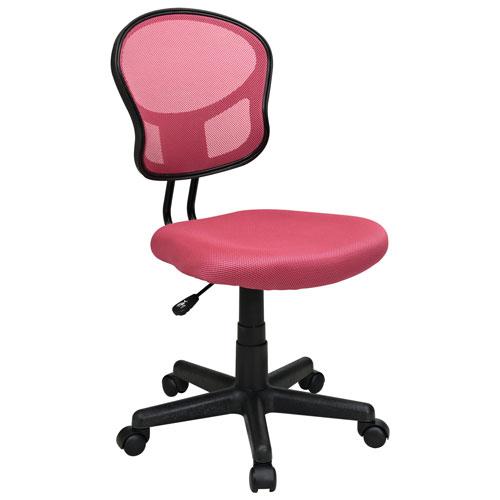fauteuil de bureau en polyester ospdesigns d 39 office star rose chaises de bureau best buy. Black Bedroom Furniture Sets. Home Design Ideas