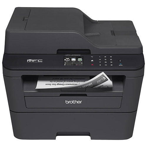 Brother Wireless Monochrome All-In-One Laser Printer (MFCL2720DW)