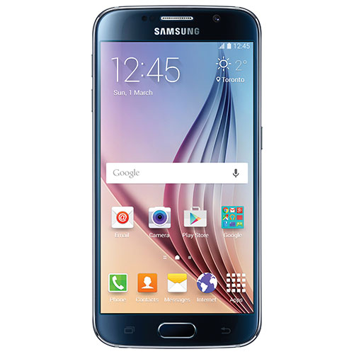 Rogers Samsung Galaxy S6 32GB Smartphone - Black - 2 Year Agreement
