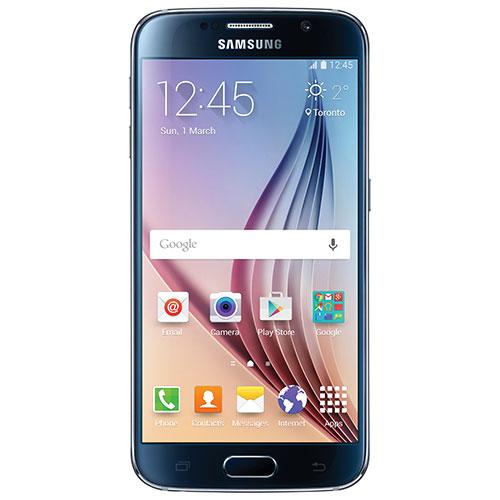 Téléphone intelligent Galaxy S6 32 Go de Samsung par Tbaytel - Noir - Entente 2 ans - Thunder Bay