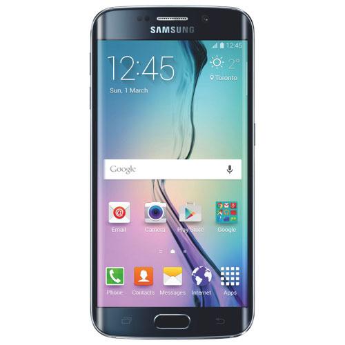Téléphone intelligent Galaxy S6 Edge 32 Go de Samsung offert par TELUS - Noir - Entente de 2 ans