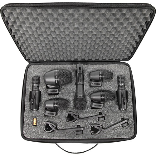 Shure Drum Microphone Kit (PGADRUMKIT7)