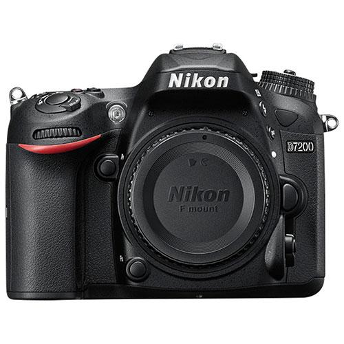 Appareil photo reflex numérique D7200 de Nikon (boîtier seulement)