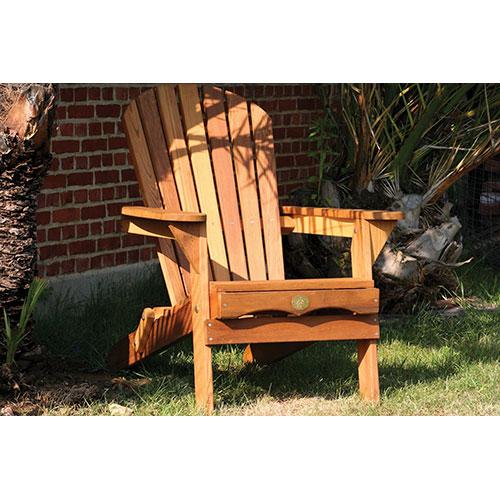 Traditional Patio Adirondack Chair - Red Cedar (BC300C)