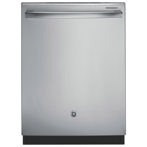 """GE 24"""" 48 dB Built-In Dishwasher with Stainless Steel Tub (GDT650SSFSS) - Stainless Steel"""