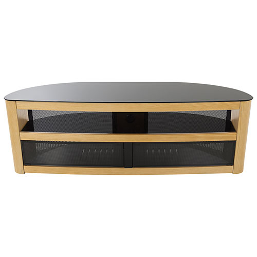 "AVF Burghley TV Stand for TVs Up To 70"" (FS1500BURO-A) - Oak"