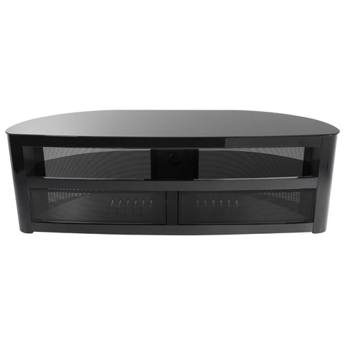 "AVF Burghley TV Stand for TVs Up To 70"" (FS1500BURPB-A) - Piano Black"