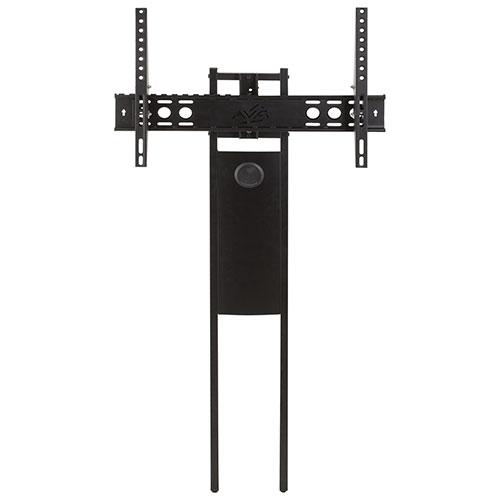 Module de fixation pour meuble de téléviseur série Buckingham/Burghley/Bay d'AVF (FL602KITB-T) - Noir