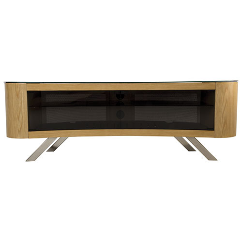 "AVF Bay TV Stand for TVs Up To 70"" (FS1500BAYO-A) - Oak"