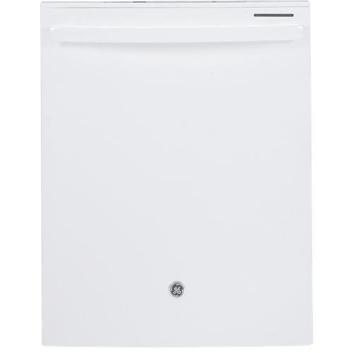 Lave-vaisselle encastrable 24 po 48 dB de GE à cuve en acier inoxydable (GDT650SGFWW) - Blanc
