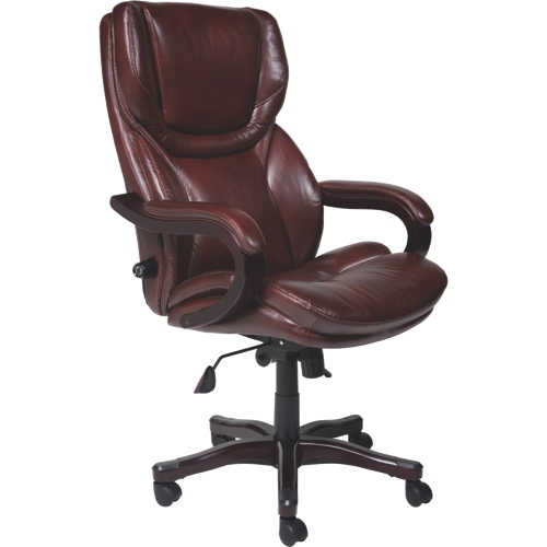 Incroyable Thomasville Big U0026 Tall Bonded Leather Manager U0026 Executive Chair   Brown : Office  Chairs   Best Buy Canada