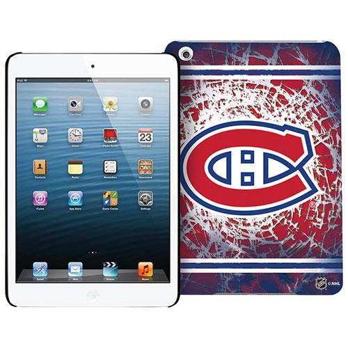 Étui rigide pour iPad mini 1/2/3 Canadiens de Montréal de la LNH