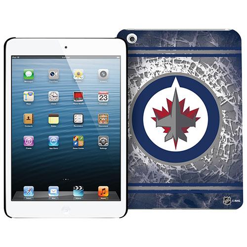 Étui rigide des Jets de Winnipeg de la LNH pour iPad mini 1/2/3
