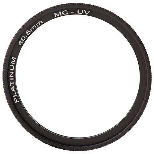 Filtre UV de 40,5 mm série Platinum pour appareil photo (PT-MCUVF405-C)