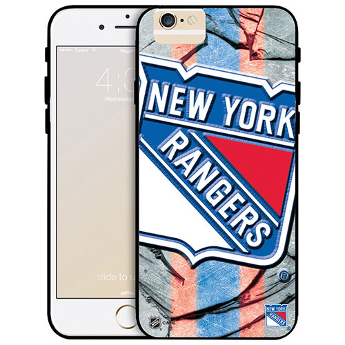 NHL New York Rangers iPhone 6 Fitted Hard Shell Case - Large Logo