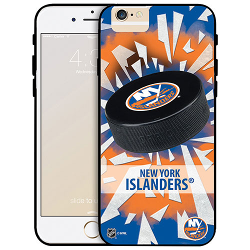NHL New York Rangers iPhone 6 Fitted Hard Shell Case - Puck Shatter
