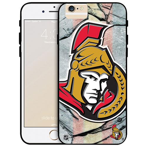 Étui rigide ajusté des Sénateurs d'Ottawa de la LNH pour iPhone 6/6s - Grand logo