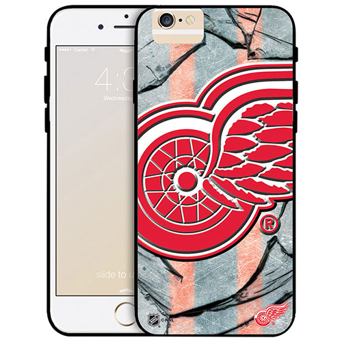 NHL Detroit Red Wings iPhone 6 Plus Fitted Hard Shell Case - Large Logo