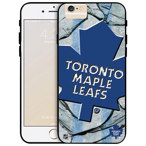 Étui rigide ajusté des Maple Leafs de Toronto de la LNH pour iPhone 6 Plus - Grand logo