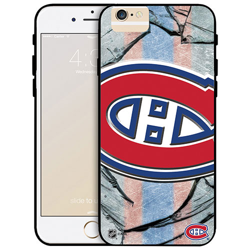 NHL Montreal Canadiens iPhone 6 Plus Fitted Hard Shell Case - Large Logo