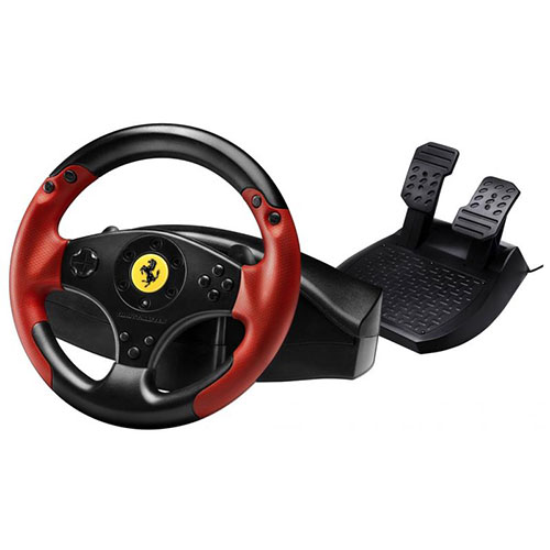 Volant de course Ferrari édition Red Legend de Thrustmasterpour (PS3)