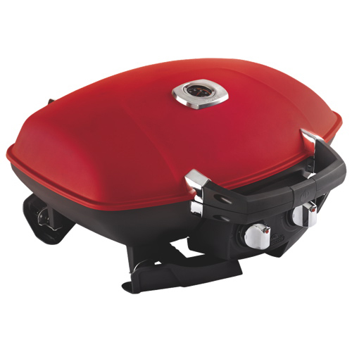 Napoleon TravelQ 12,000 BTU Portable Gas BBQ with Griddle (TQ285-RD-A) - Red