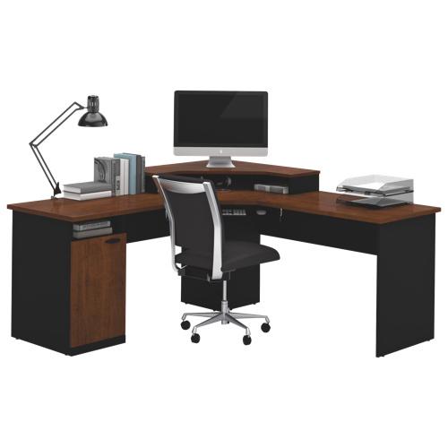 Black desks pilaster designs wallmounted foldout convertible writing desk black desks full size - Corner desk canada ...