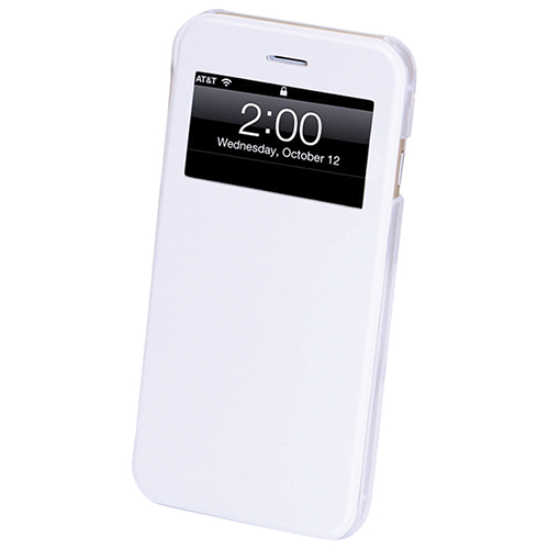 GelGrip iPhone 6/6s Plus Folio Case - White
