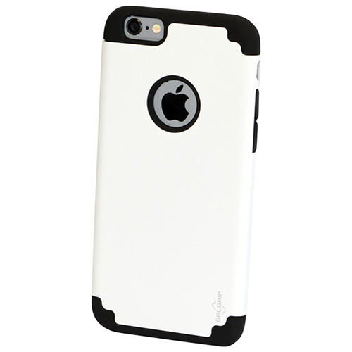 GelGrip DualKase iPhone 6 Fitted Hard Shell Case - White