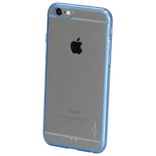 Étui souple ajusté Iinvisa de GelGrip pour iPhone 6/6s - Bleu