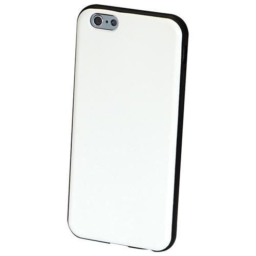Étui rigide ajusté Medici de GelGrip pour iPhone 6 - Blanc