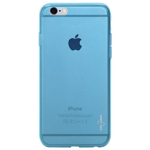 Étui en gel ultramince de GelGrip pour iPhone 6 - Bleu