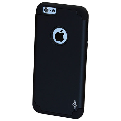 GelGrip DualKase iPhone 6/6s Plus Fitted Hard Shell Case - Black