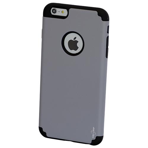 Étui rigide ajusté DualKase de GelGrip pour iPhone 6/6s Plus - Gris