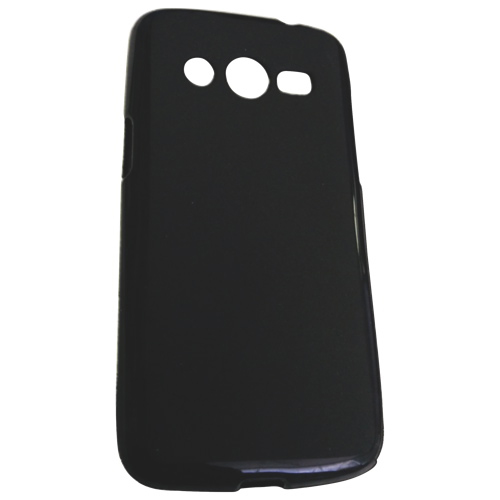 Surge Samsung Galaxy Core LTE Fitted Soft Shell Case - Black