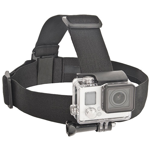 Bower Xtreme Action GoPro Hero Elastic Head Strap