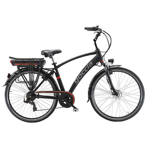 Goccia Holiday Speed Electric Bike Black Electric Bikes