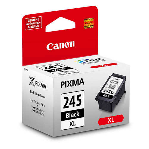 Canon Pixma 245XL Black Ink (8278B010) - 2 Pack